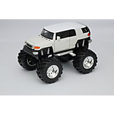 Модель машины 1:34-39 Toyota FJ Cruiser Big Wheel, белая, Welly