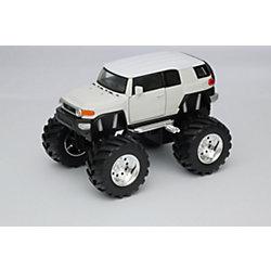 Модель машины 1:34-39 Toyota FJ Cruiser Big Wheel, белая, Welly