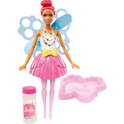 barbie dreamtopia seifenblasen fee puppe pinkfarbenes haar