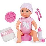 """Интерактивная кукла Bayer, """"Новорожденный малыш"""", 40 см"""