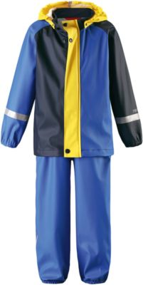 Непромокаемый комплект Tihku: куртка и брюки для мальчика Reima - синий