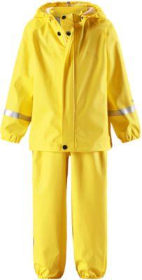 Непромокаемый комплект Tihku: куртка и брюки Reima - желтый