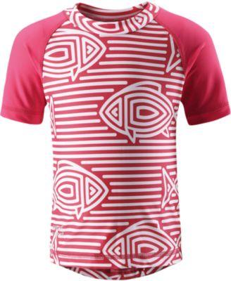 Футболка пляжная Azores для девочки Reima - розовый