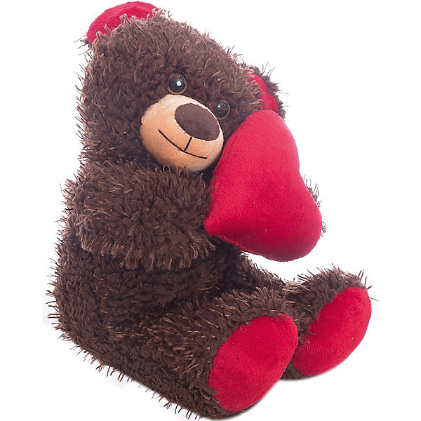 """Мягкая игрушка """"Медвежонок Чиба с сердцем"""", Fancy"""