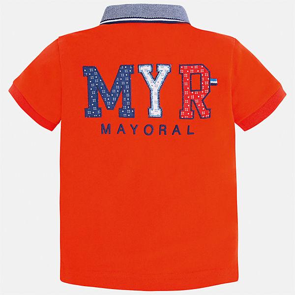 Футболка-поло для мальчика Mayoral