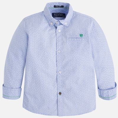 Рубашка для мальчика Mayoral - голубой