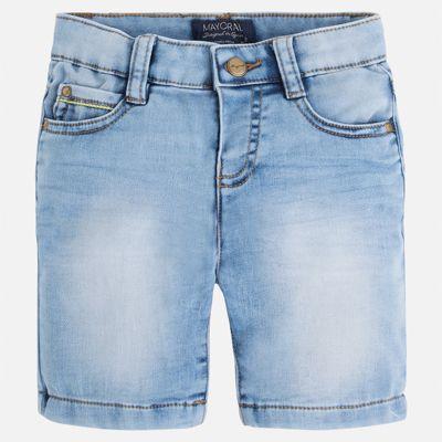 Бриджи джинсовые для мальчика Mayoral - синий