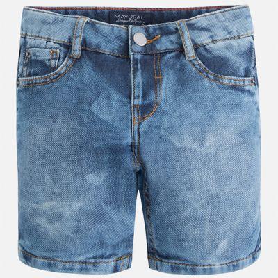Бриджи джинсовые для мальчика Mayoral - голубой