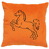 Декоративная подушка Лошадь арт. 1845, Small Toys, оранжевый