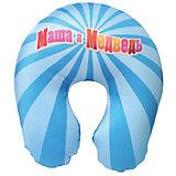 Подушка для шеи антистресс арт. 2602-1, Small Toys, голубой