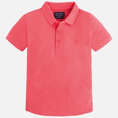 Футболка-поло для мальчика Mayoral - розовый