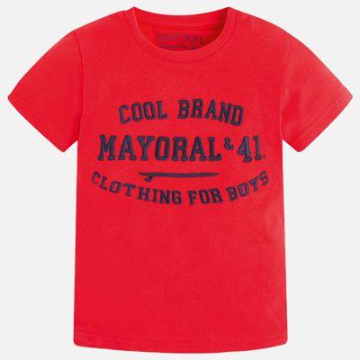 Футболка для мальчика Mayoral - красный