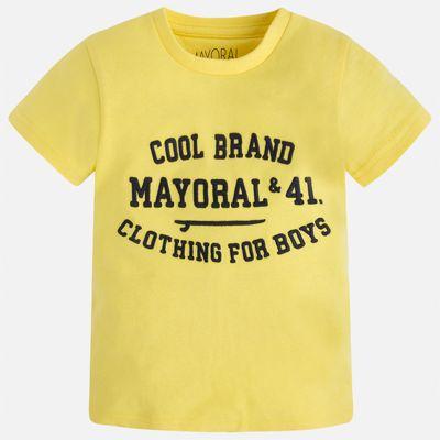 Футболка для мальчика Mayoral - желтый
