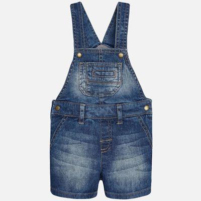 Комбинезон джинсовый для мальчика Mayoral - голубой