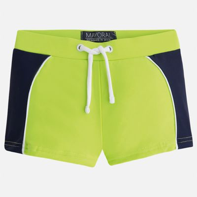 Плавки-шорты для мальчика Mayoral - зеленый