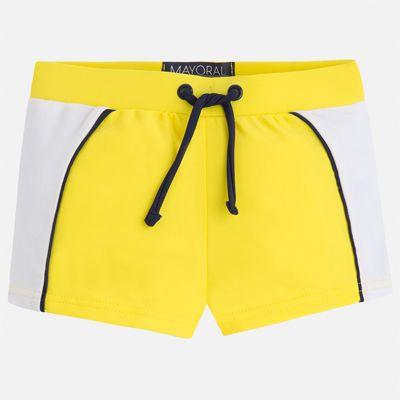 Плавки-шорты для мальчика Mayoral - желтый
