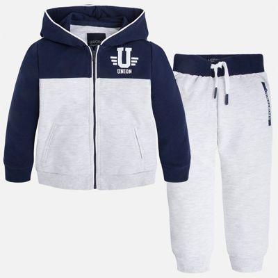 Спортивный костюм для мальчика Mayoral - белый