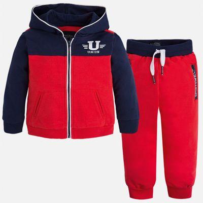 Спортивный костюм для мальчика Mayoral - красный