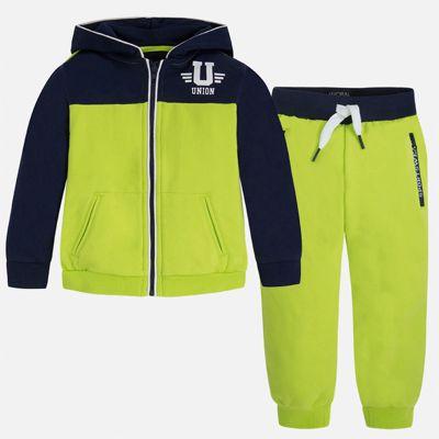 Спортивный костюм для мальчика Mayoral - зеленый