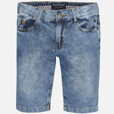 Шорты джинсовые для мальчика Mayoral - голубой