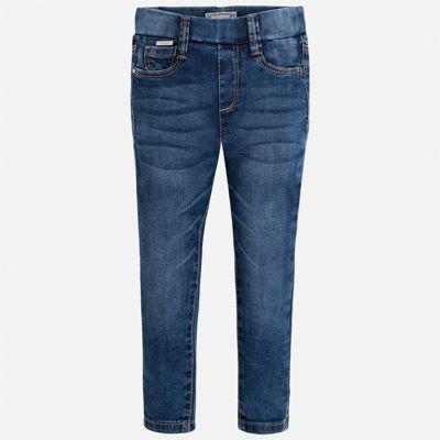 Леггинсы джинсовые для девочки Mayoral - синий