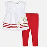 Комплект: рубашка и брюки для девочки Mayoral