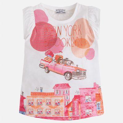 Футболка для девочки Mayoral - розовый