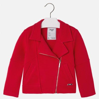 Пиджак для девочки Mayoral - красный