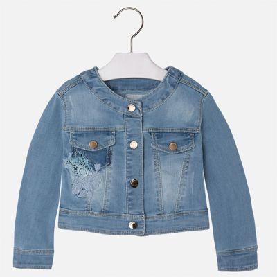 Куртка джинсовая для девочки Mayoral - синий