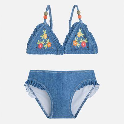 Купальник раздельный для девочки Mayoral - голубой