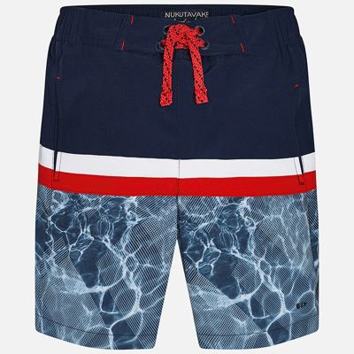 Плавки-шорты для мальчика Mayoral - синий