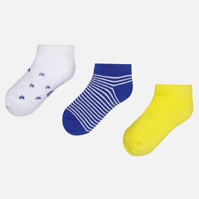Носки (3 пары) для мальчика Mayoral - желтый