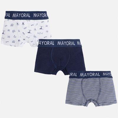 Трусы (3 пары) для мальчика Mayoral - синий