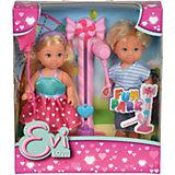 Кукла Еви и Тимми на аттракционах 12 cм, Simba