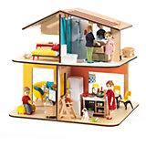 Современный дом для кукол, DJECO