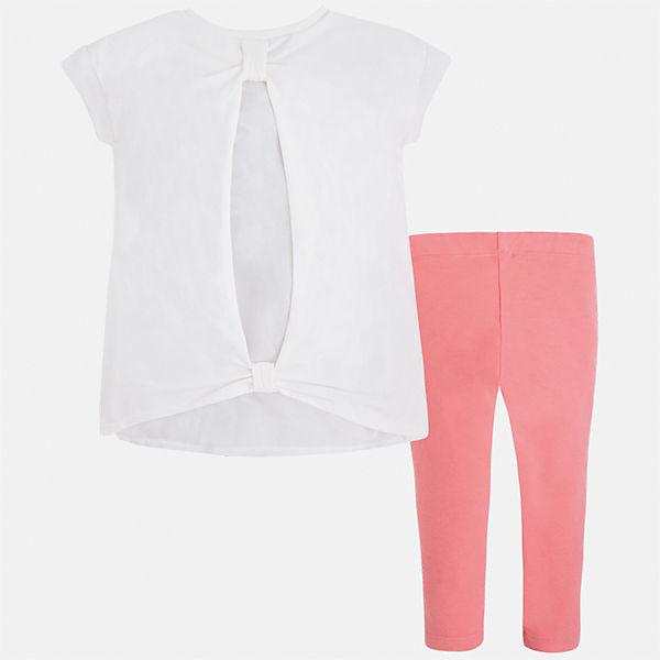Комплект: блузка и леггинсы для девочки Mayoral