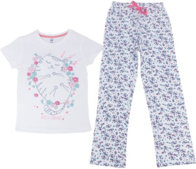 Пижама для девочки SELA - молочный