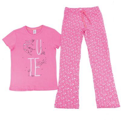 Пижама для девочки SELA - розовый