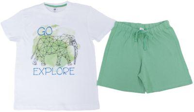Пижама для мальчика SELA - зеленый