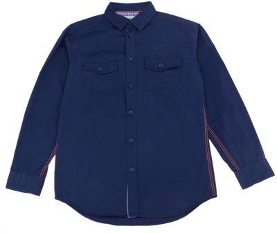 Рубашка для мальчика SELA - синий