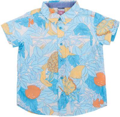 Рубашка для мальчика SELA - молочный