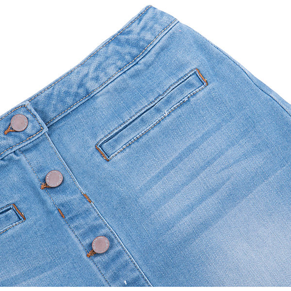 Джинсовая юбка для девочки доставка