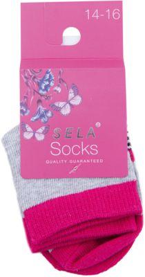 Носки для девочки SELA - серый