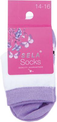 Носки для девочки SELA - белый