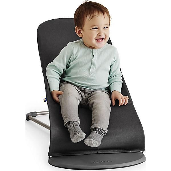 Кресло-шезлонг Bliss Mesh, BabyBjorn, кофейный