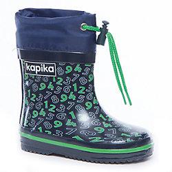 Резиновые сапоги для мальчика KAPIKA