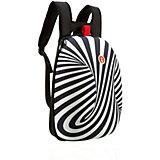 Рюкзак SHELL BACKPACKS, цвет черный/белый