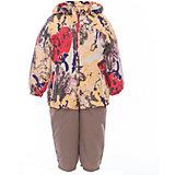 Комплект: куртка и полукомбинезон для девочки CLARA Huppa