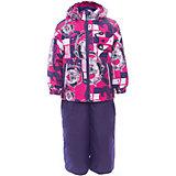 Комплект: куртка и полукомбинезон YOKO для девочки Huppa