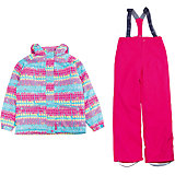 Комплект: куртка и полукомбинезон для девочки Premont